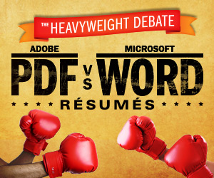 PDF vs Word Resume Debate