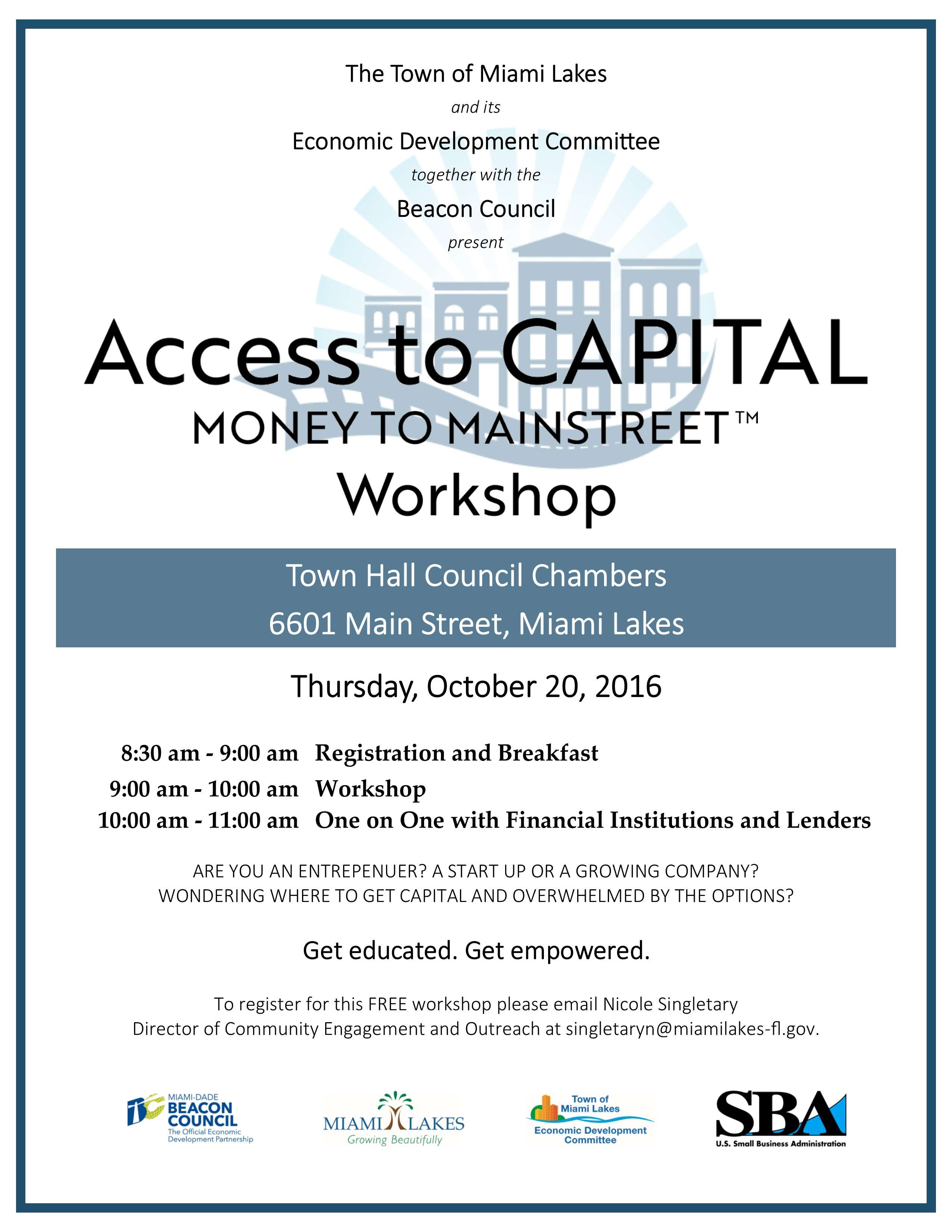 Access to Capital Workshop
