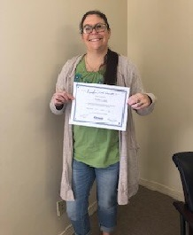March 2018 Associate of Month Nicole Lowe