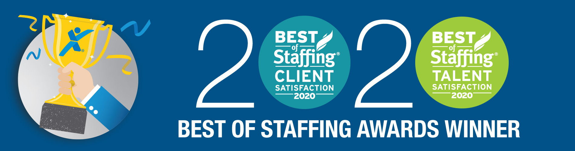 2020 Best of Staffing Express Employment Professionals