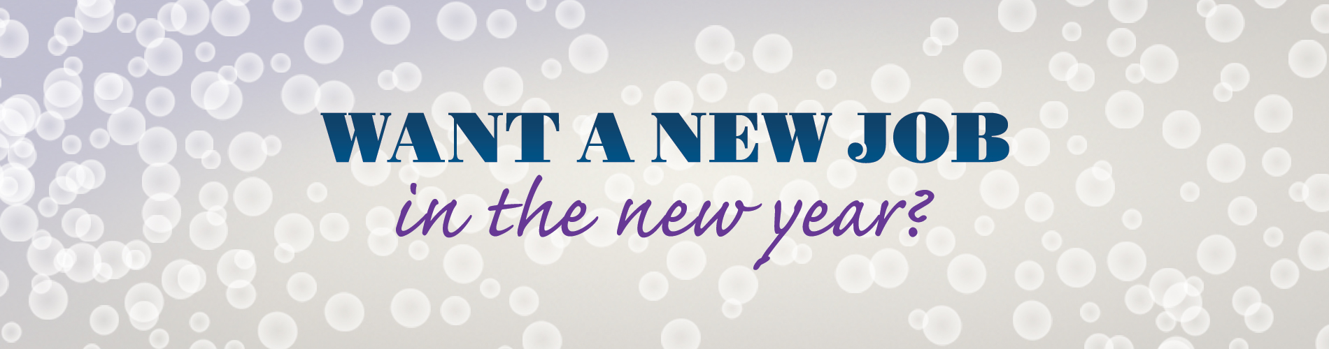 New Year - New Job Home Page Banner - Version 4