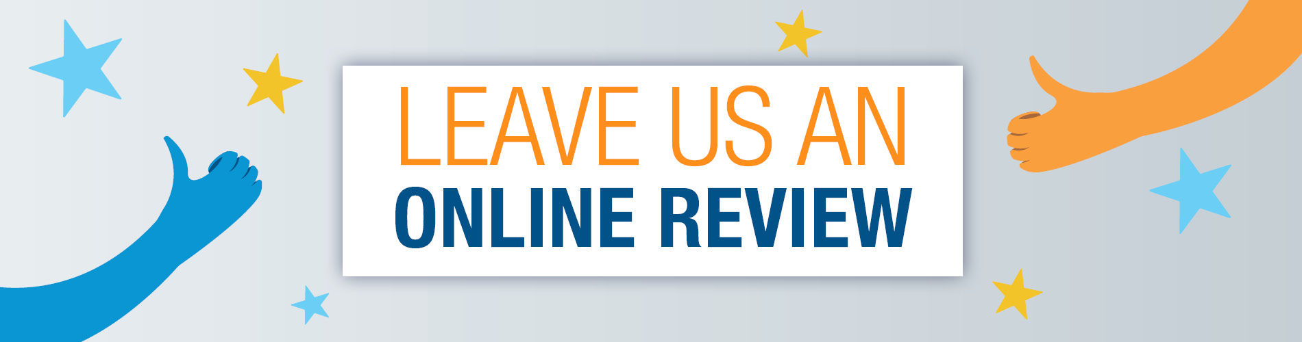 Leave Us A Review Banner