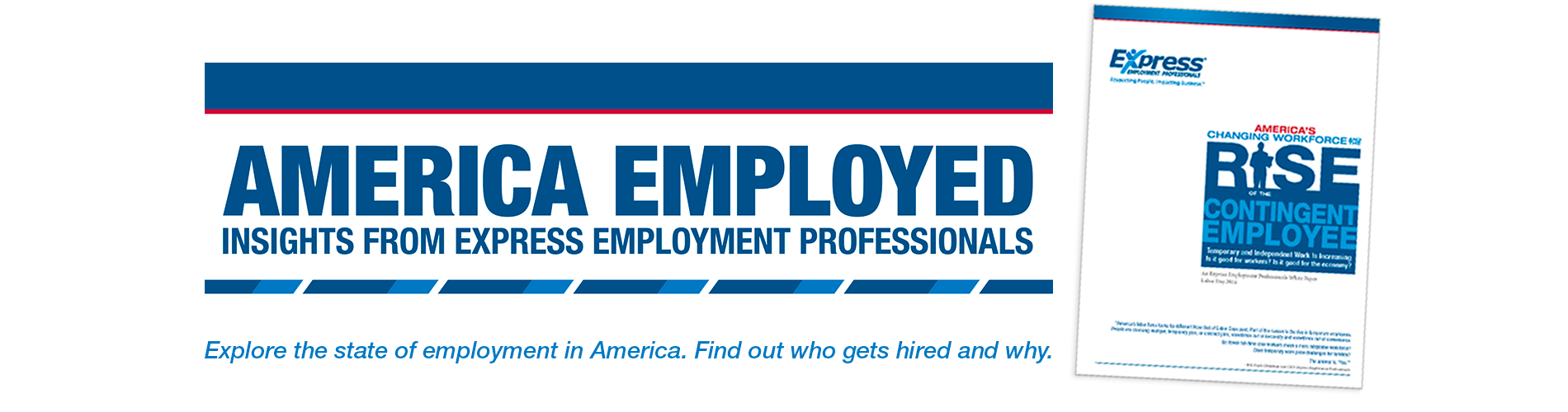 America Employed Home Page Banner Image