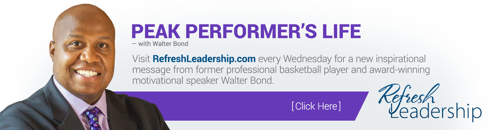 Walter Bond Series for Refresh Leadership