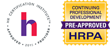 HRCI and HRPA Seals